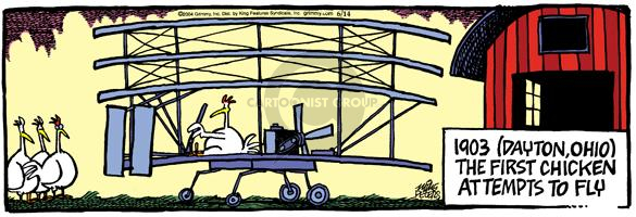 Comic Strip Mike Peters  Mother Goose and Grimm 2004-06-14 pilot
