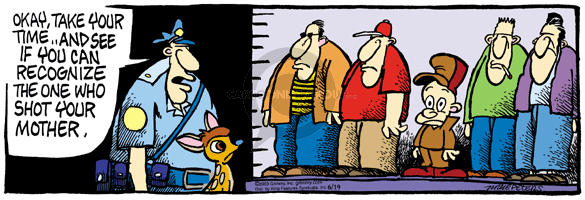Comic Strip Mike Peters  Mother Goose and Grimm 2003-06-19 one