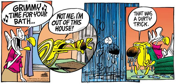 Comic Strip Mike Peters  Mother Goose and Grimm 2004-06-20 house
