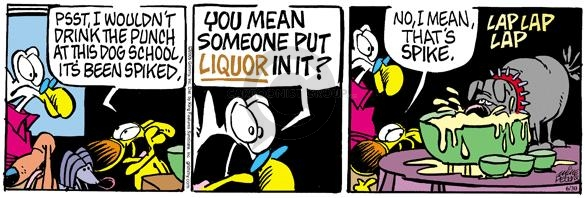 Comic Strip Mike Peters  Mother Goose and Grimm 2005-06-30 liquor