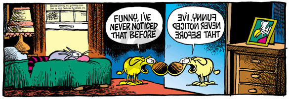 Comic Strip Mike Peters  Mother Goose and Grimm 2003-07-01 observe