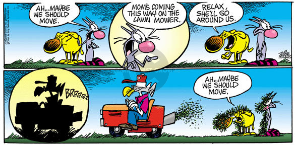 Cartoonist Mike Peters  Mother Goose and Grimm 2003-07-06 gardening