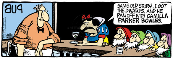 Comic Strip Mike Peters  Mother Goose and Grimm 2003-07-08 break-up