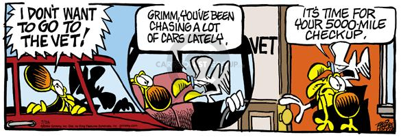 Comic Strip Mike Peters  Mother Goose and Grimm 2004-07-16 lately