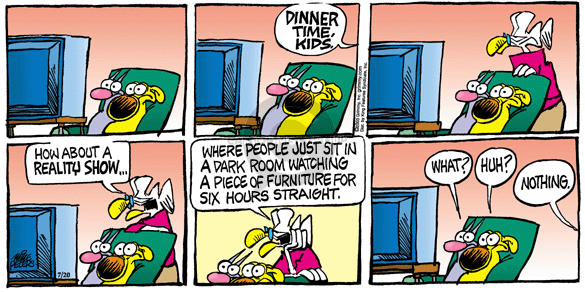 Comic Strip Mike Peters  Mother Goose and Grimm 2003-07-20 immobile