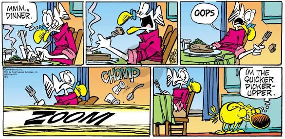 Comic Strip Mike Peters  Mother Goose and Grimm 2005-08-07 faster