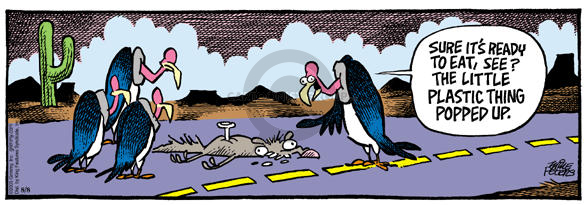 Comic Strip Mike Peters  Mother Goose and Grimm 2003-08-08 food consumption