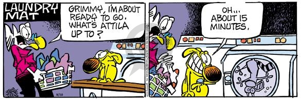Comic Strip Mike Peters  Mother Goose and Grimm 2005-08-10 cat dog