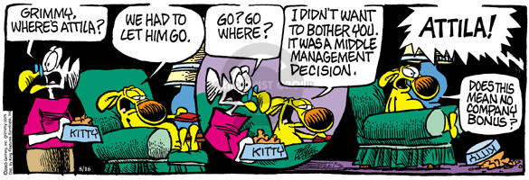 Comic Strip Mike Peters  Mother Goose and Grimm 2003-08-16 administrator
