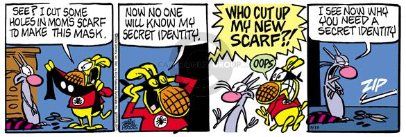 Comic Strip Mike Peters  Mother Goose and Grimm 2004-08-18 oops