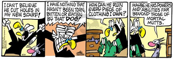 Comic Strip Mike Peters  Mother Goose and Grimm 2004-08-19 clothes