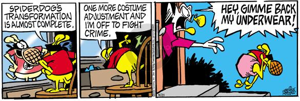 Comic Strip Mike Peters  Mother Goose and Grimm 2004-08-21 costume