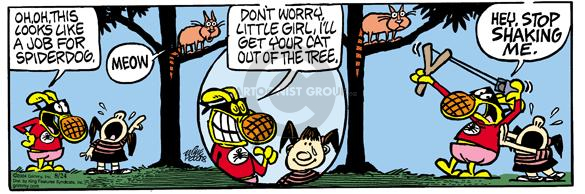 Comic Strip Mike Peters  Mother Goose and Grimm 2004-08-24 tree