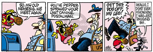 Comic Strip Mike Peters  Mother Goose and Grimm 2004-08-27 pepper spray
