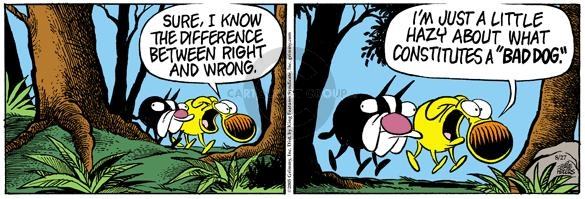 Comic Strip Mike Peters  Mother Goose and Grimm 2005-08-27 difference