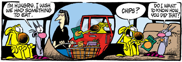 Comic Strip Mike Peters  Mother Goose and Grimm 2003-09-05 grocery shop