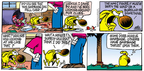 Comic Strip Mike Peters  Mother Goose and Grimm 2003-09-07 justification