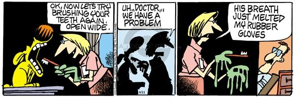 Comic Strip Mike Peters  Mother Goose and Grimm 2004-09-11 problem