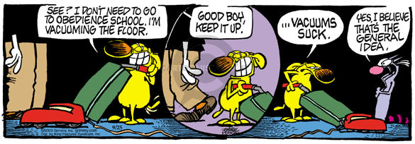 Comic Strip Mike Peters  Mother Goose and Grimm 2003-09-25 suck