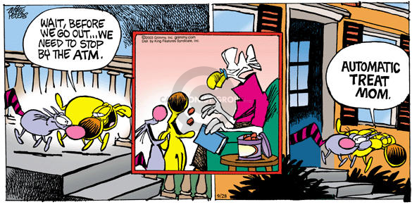 Comic Strip Mike Peters  Mother Goose and Grimm 2003-09-28 ATM