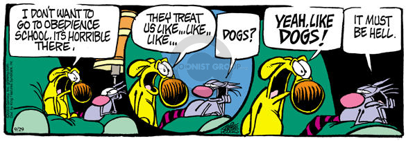 Comic Strip Mike Peters  Mother Goose and Grimm 2003-09-29 aversion