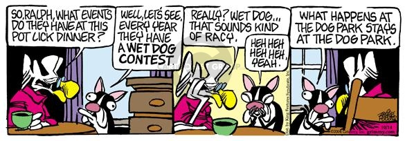 Comic Strip Mike Peters  Mother Goose and Grimm 2004-10-14 yeah