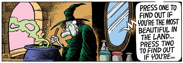 Cartoonist Mike Peters  Mother Goose and Grimm 2005-10-01 pot