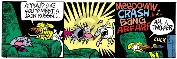 Comic Strip Mike Peters  Mother Goose and Grimm 2005-10-12 cat dog