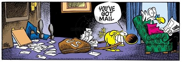 U.S.  Youve got mail.