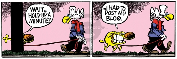 Comic Strip Mike Peters  Mother Goose and Grimm 2005-11-17 blog