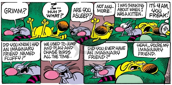 Comic Strip Mike Peters  Mother Goose and Grimm 2005-12-04 cat dog