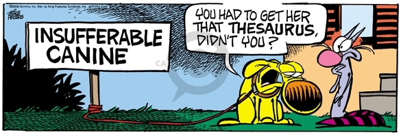 Comic Strip Mike Peters  Mother Goose and Grimm 2006-01-14 impossible
