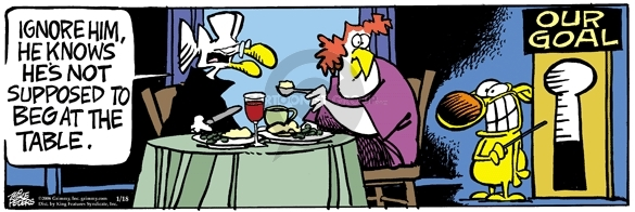 Comic Strip Mike Peters  Mother Goose and Grimm 2006-01-18 objective