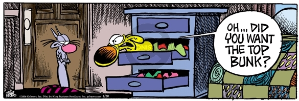 Comic Strip Mike Peters  Mother Goose and Grimm 2006-01-20 cat dog