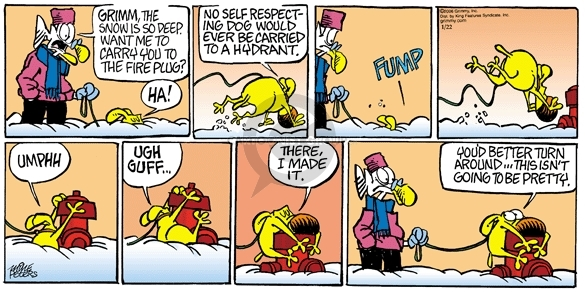 Comic Strip Mike Peters  Mother Goose and Grimm 2006-01-22 cold