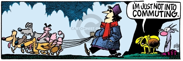 Comic Strip Mike Peters  Mother Goose and Grimm 2006-02-02 transportation