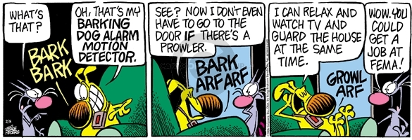 Comic Strip Mike Peters  Mother Goose and Grimm 2006-02-08 arf