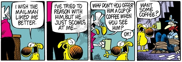 Comic Strip Mike Peters  Mother Goose and Grimm 2006-02-17 offer
