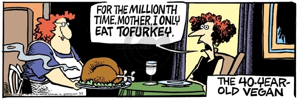 Comic Strip Mike Peters  Mother Goose and Grimm 2006-03-01 forty