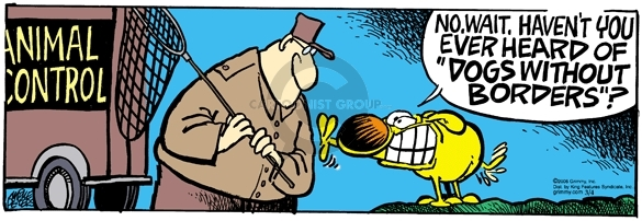 Comic Strip Mike Peters  Mother Goose and Grimm 2006-03-04 relief