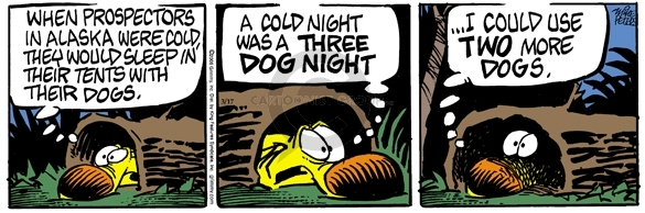 Comic Strip Mike Peters  Mother Goose and Grimm 2006-03-17 cold outside