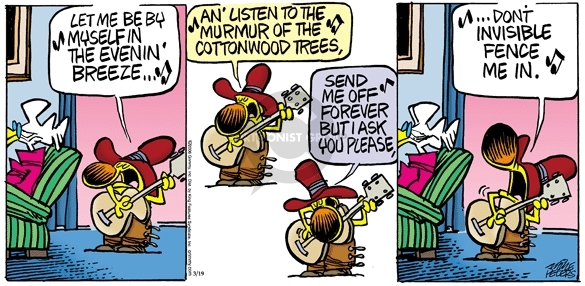 Comic Strip Mike Peters  Mother Goose and Grimm 2006-03-19 playing
