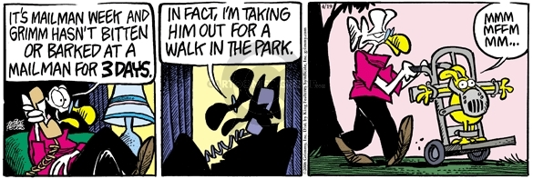 Comic Strip Mike Peters  Mother Goose and Grimm 2006-04-19 psychiatry