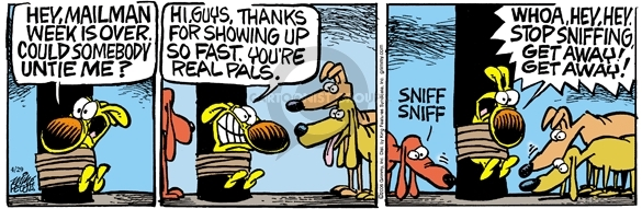 Comic Strip Mike Peters  Mother Goose and Grimm 2006-04-29 sense