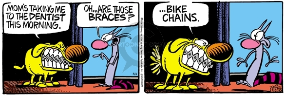 Comic Strip Mike Peters  Mother Goose and Grimm 2006-05-04 chain