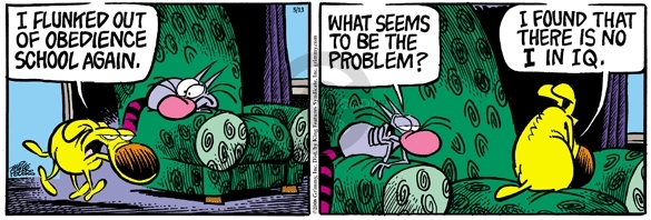 Comic Strip Mike Peters  Mother Goose and Grimm 2006-05-15 problem