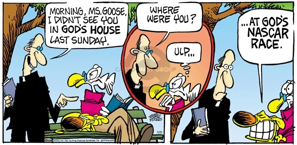 Comic Strip Mike Peters  Mother Goose and Grimm 2006-05-21 house