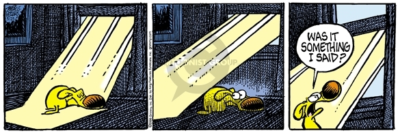 Comic Strip Mike Peters  Mother Goose and Grimm 2006-05-25 warmth