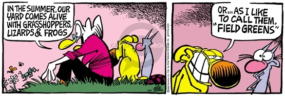 Comic Strip Mike Peters  Mother Goose and Grimm 2006-06-06 gardening
