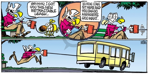 Comic Strip Mike Peters  Mother Goose and Grimm 2006-06-11 mobility